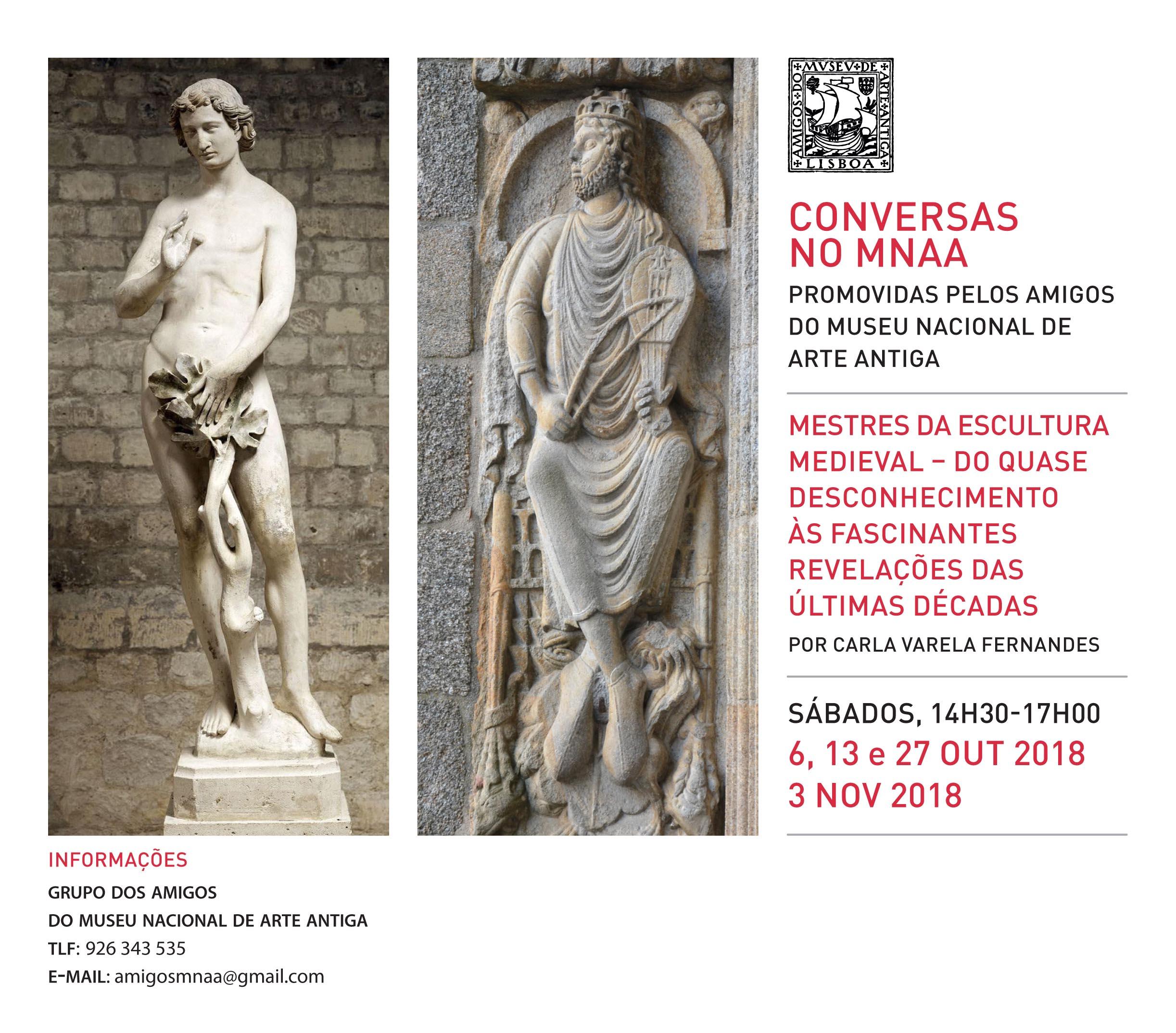 2018 GAMNAA Conversas mestres escultura