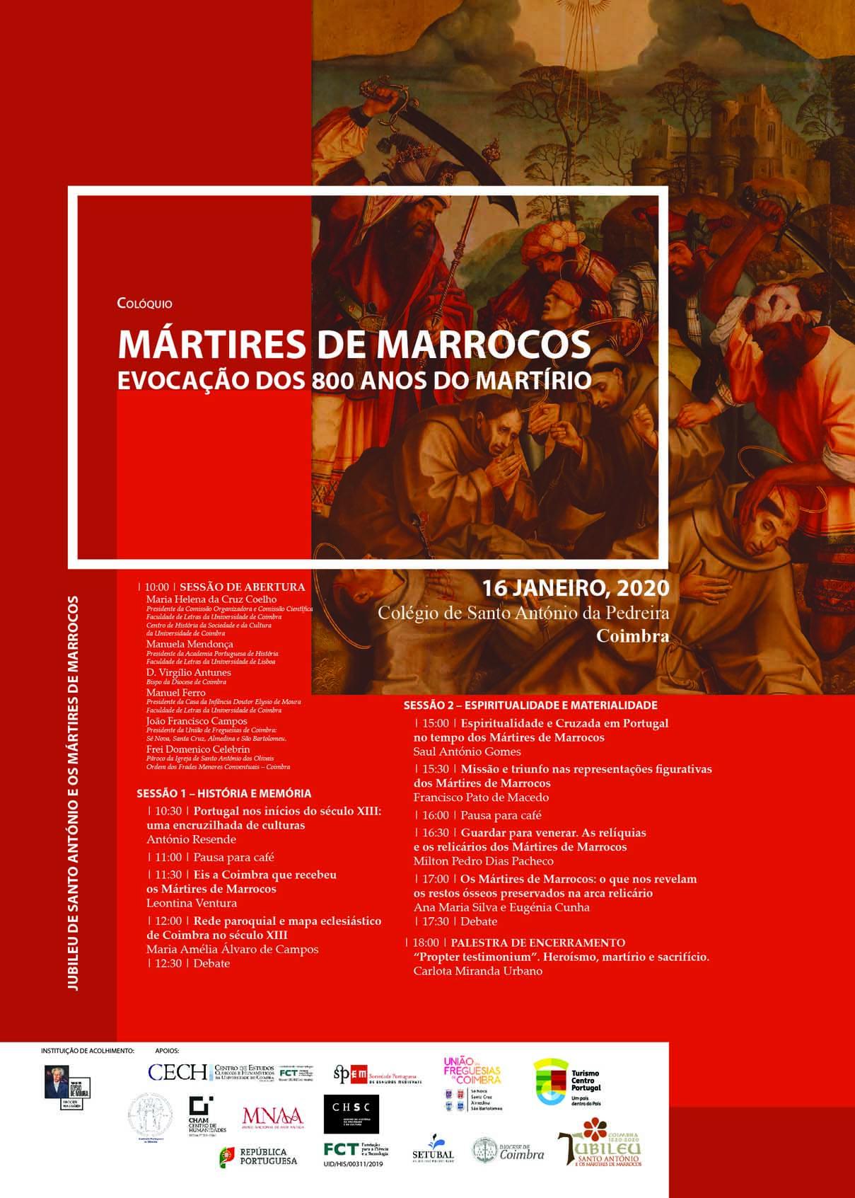 2020 Cartaz Colooquio Martires Coimbra