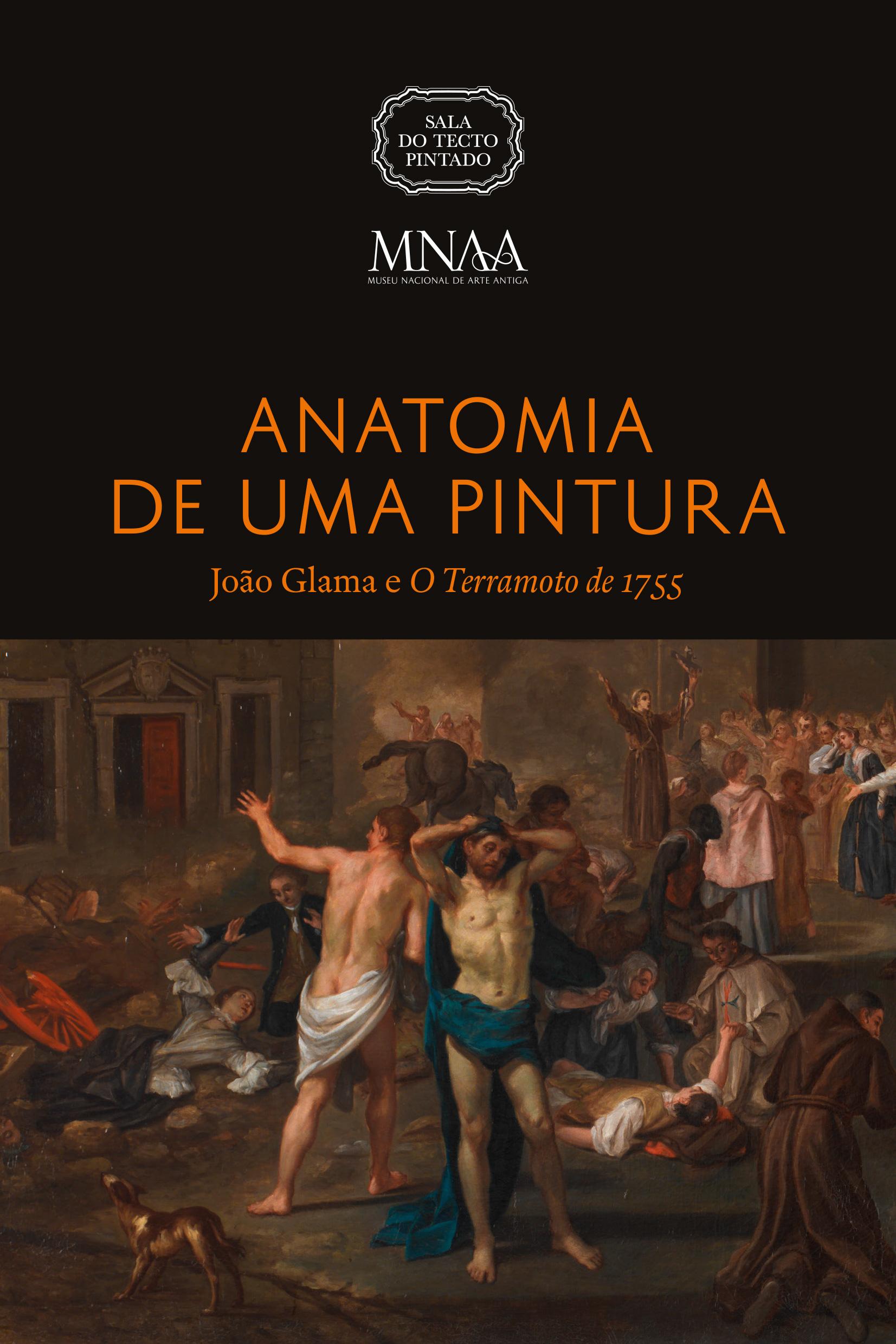 Anatomia de uma Pintura - João Glama e o Terramoto de 1755 - Capa catálogo