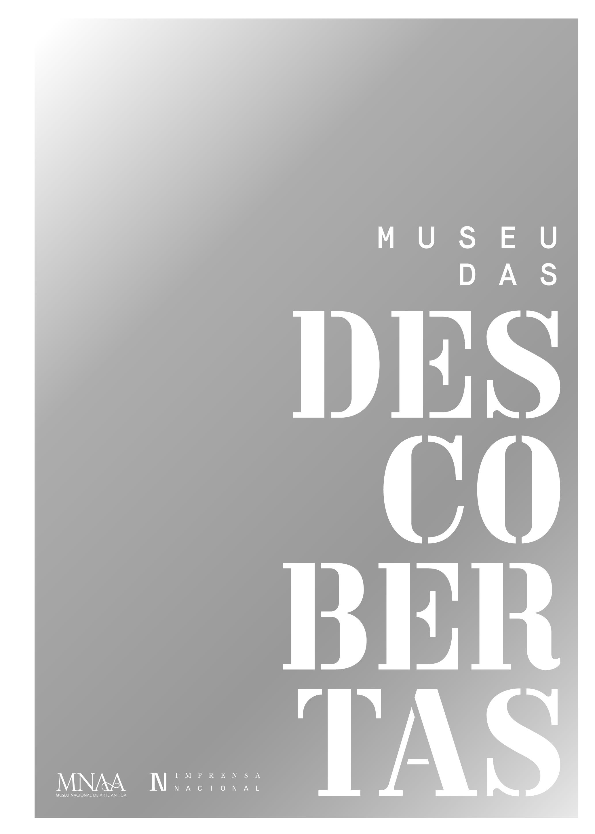 Capa do Catálogo - Museu das Descobertas