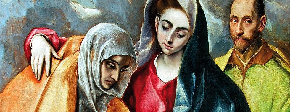 Destaque expo El Greco A Sagrada Família com Santa Ana Museo de Santa Cruz Toledo Obra Convidada 2015