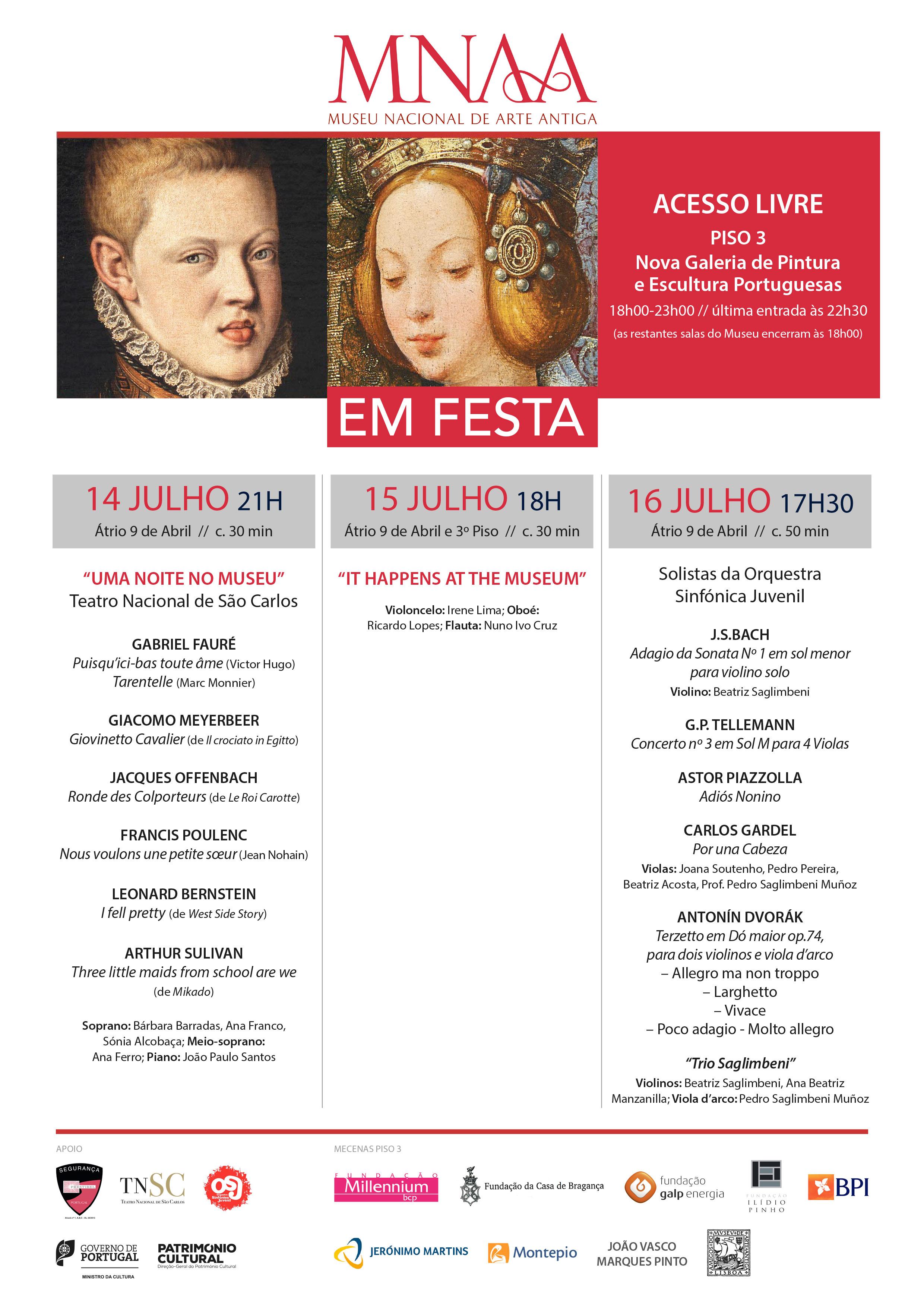 inauguração piso 3 nova galeria de pintura e escultura portuguesas