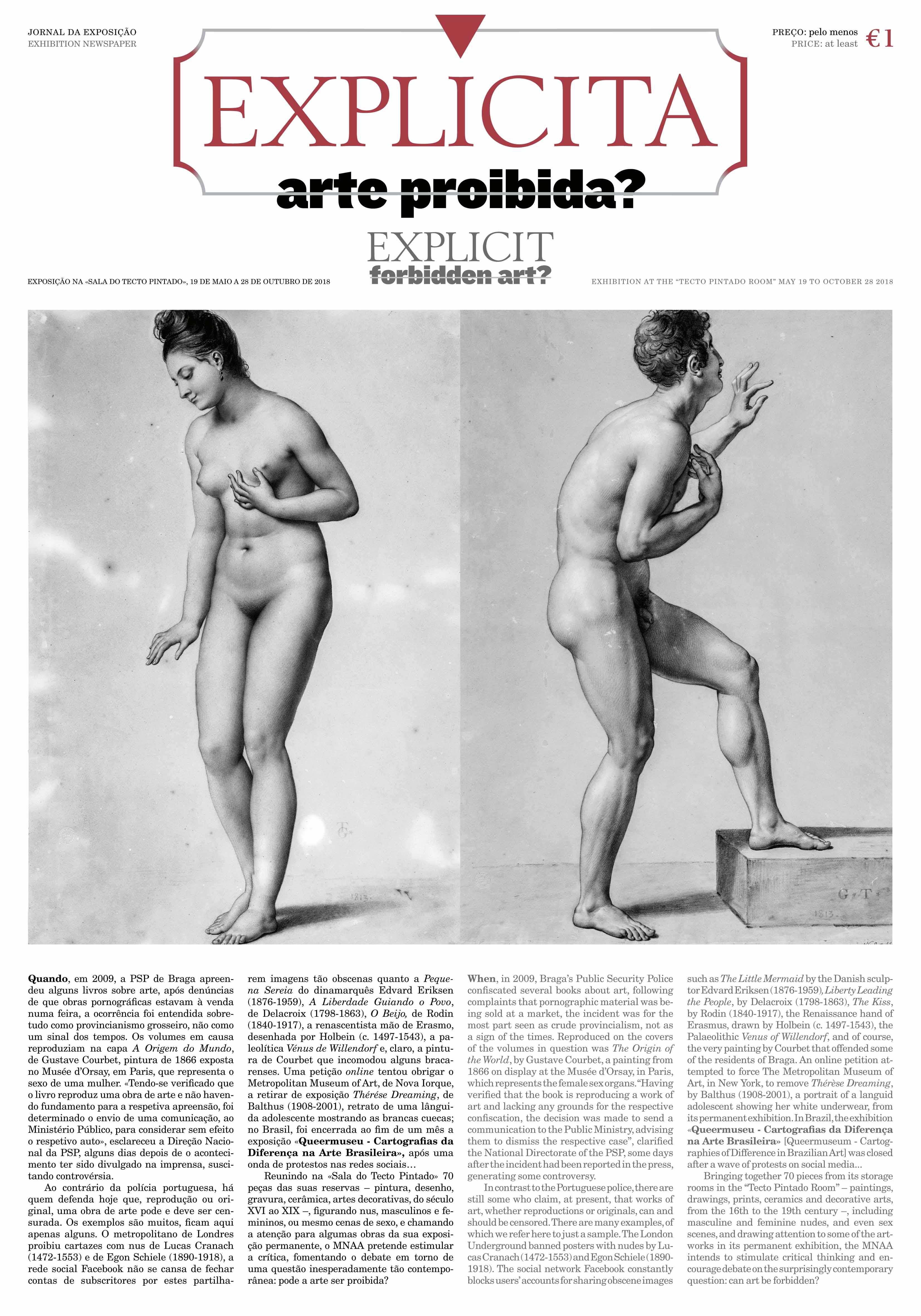 Jornal da Expo - Explicita. Arte Proibida