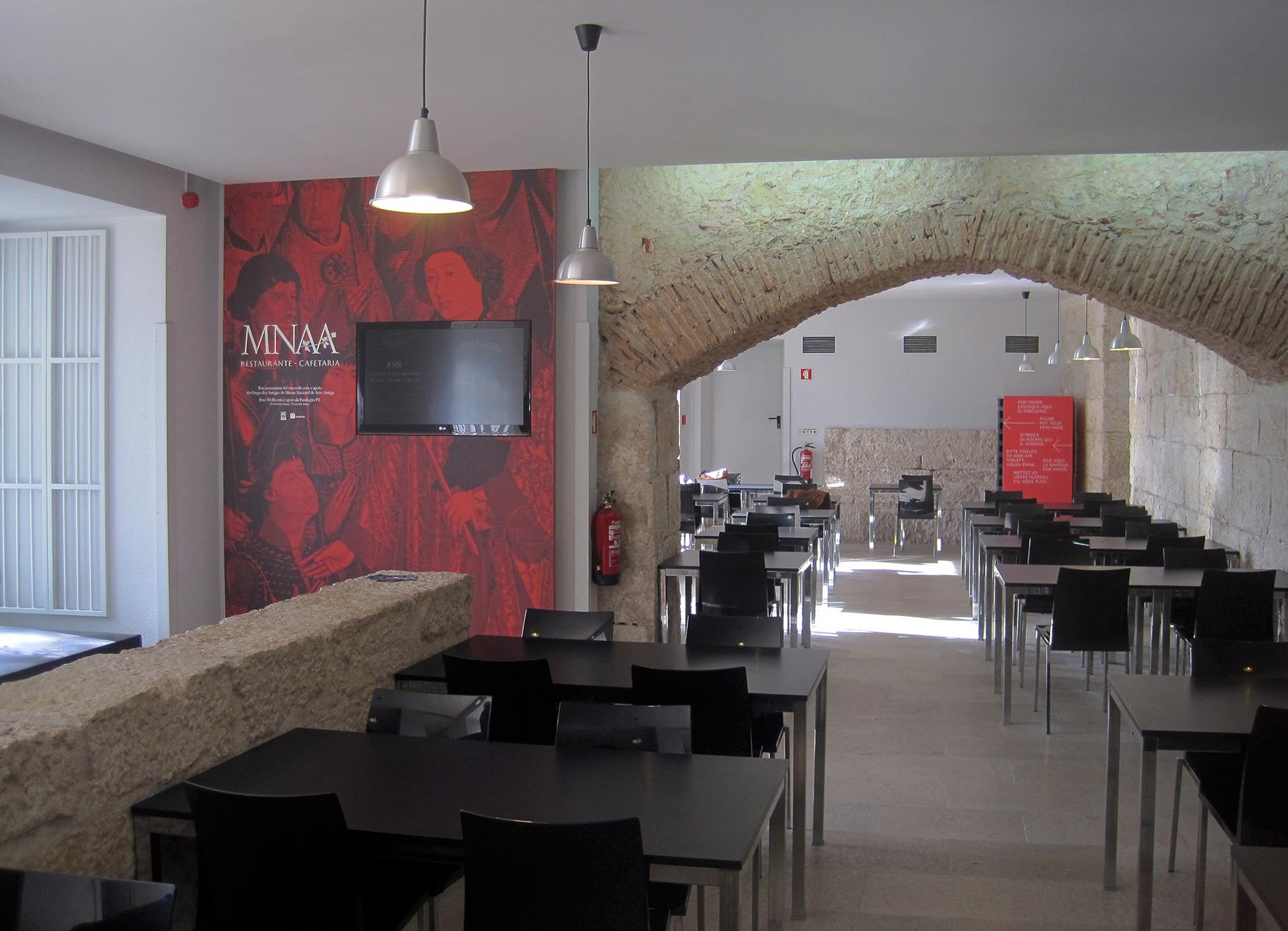 Restaurante e Jardim MNAA