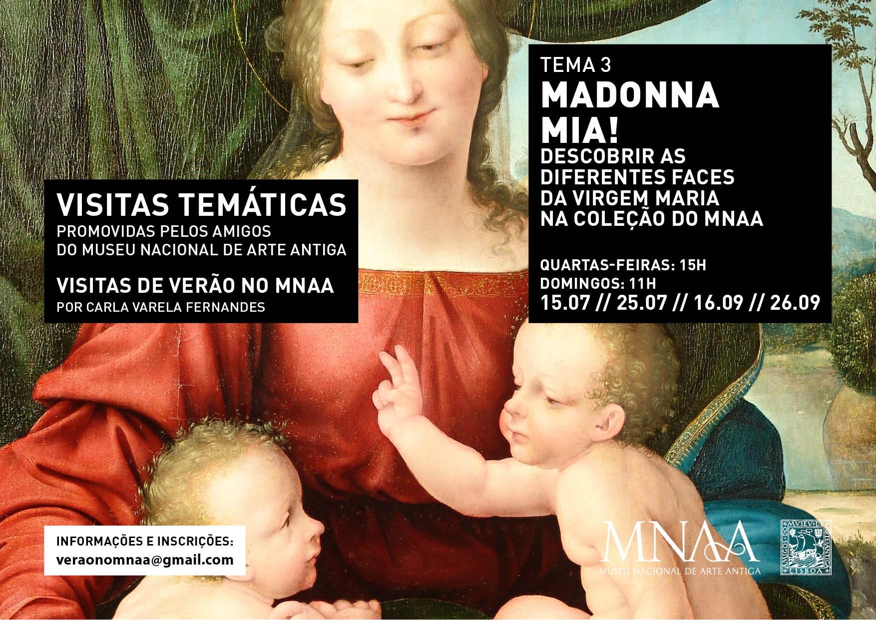 TEMA3 - visitas temáticas grupo amigos Museu Nacional de Arte Antiga
